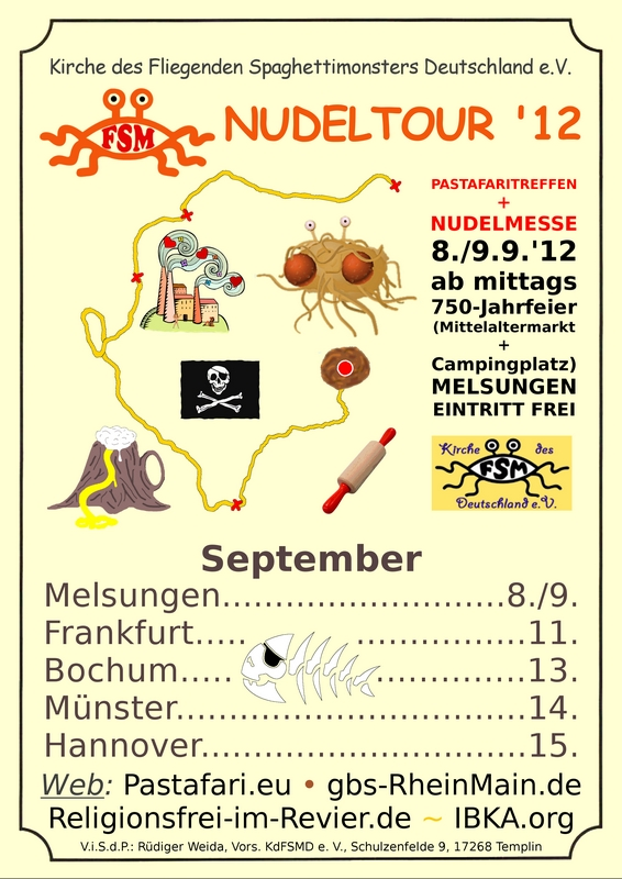 Nudelmesse on Tour 2012